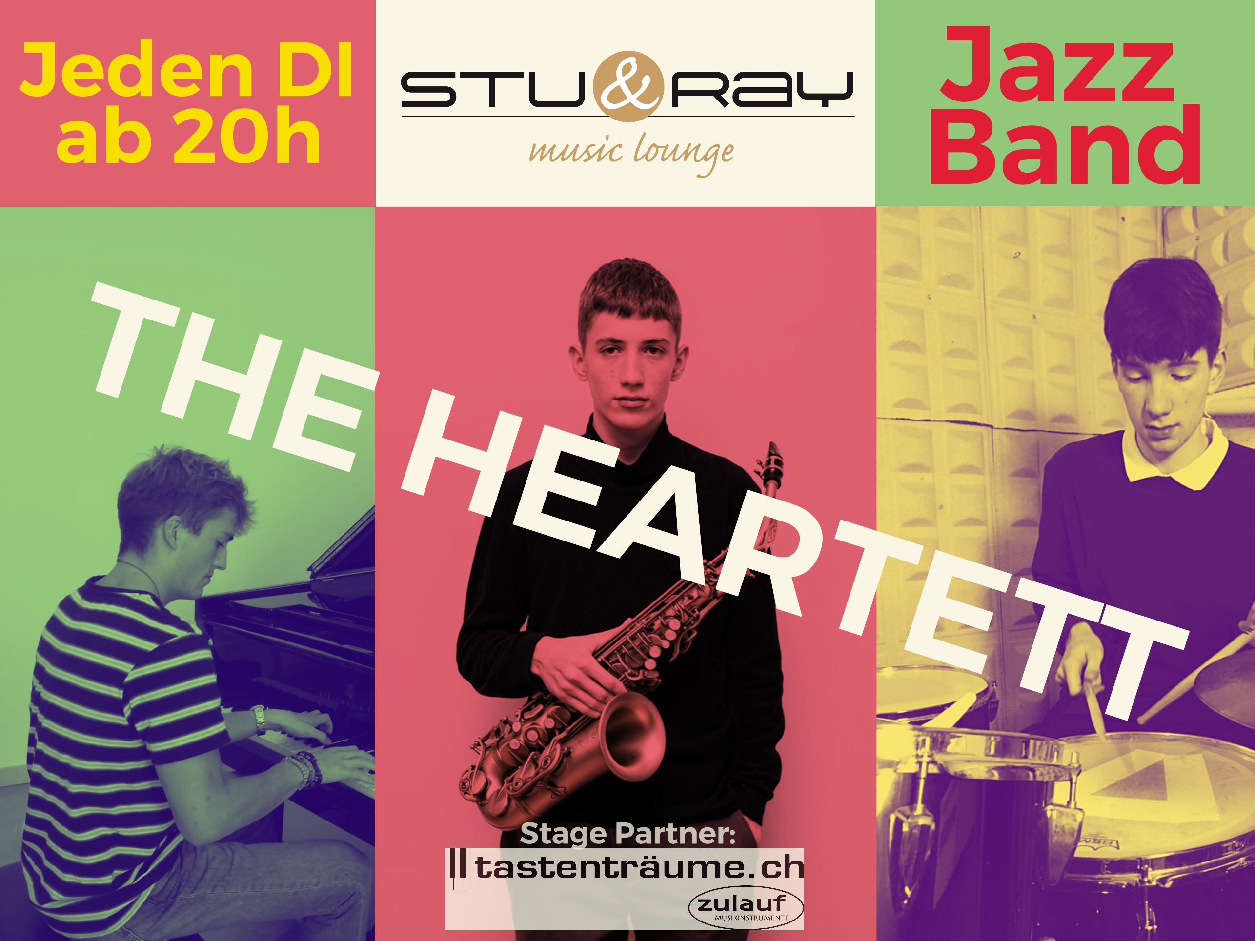 The Heartett Stu and Ray Veranstaltung in Rupperswil